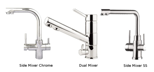 Three-way Mixer Taps